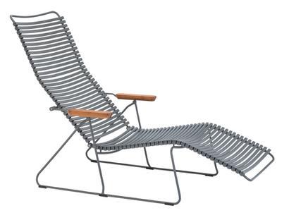Click Deck Chair Dark grey
