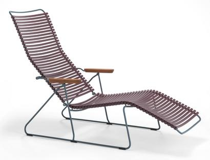 Click Deck Chair Plum