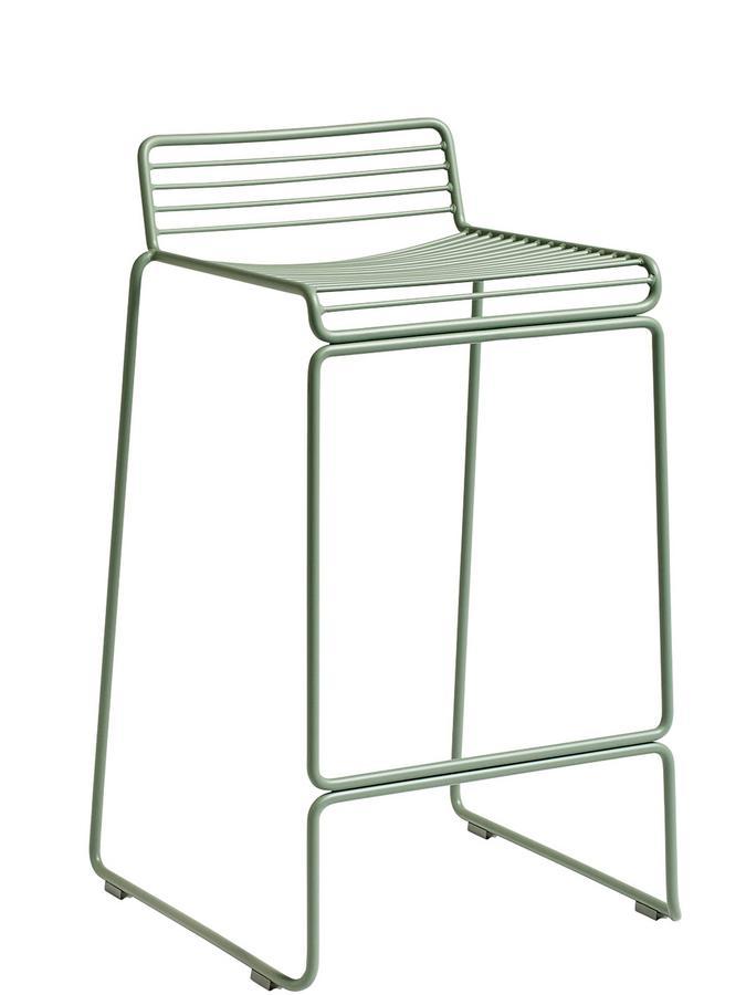 Excellent Hay Hee Bar Stool Kitchen Version Seat Height 65 Cm Fall Green Machost Co Dining Chair Design Ideas Machostcouk