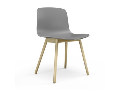 About A Chair AAC 12 Concrete grey|Clear lacquered oak