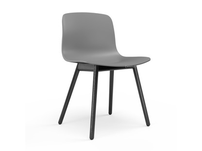 About A Chair AAC 12 Concrete grey Black stained oak