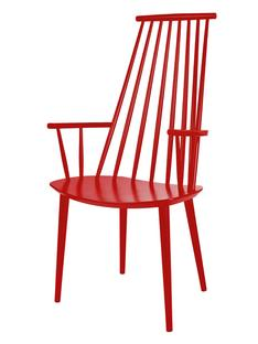 J110 Chair Raspberry red