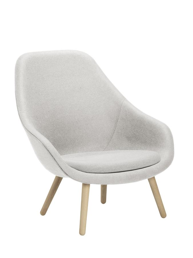 Hay Lounge Stoel.Hay About A Lounge Chair High Aal 92 By Hee Welling Hay Designer