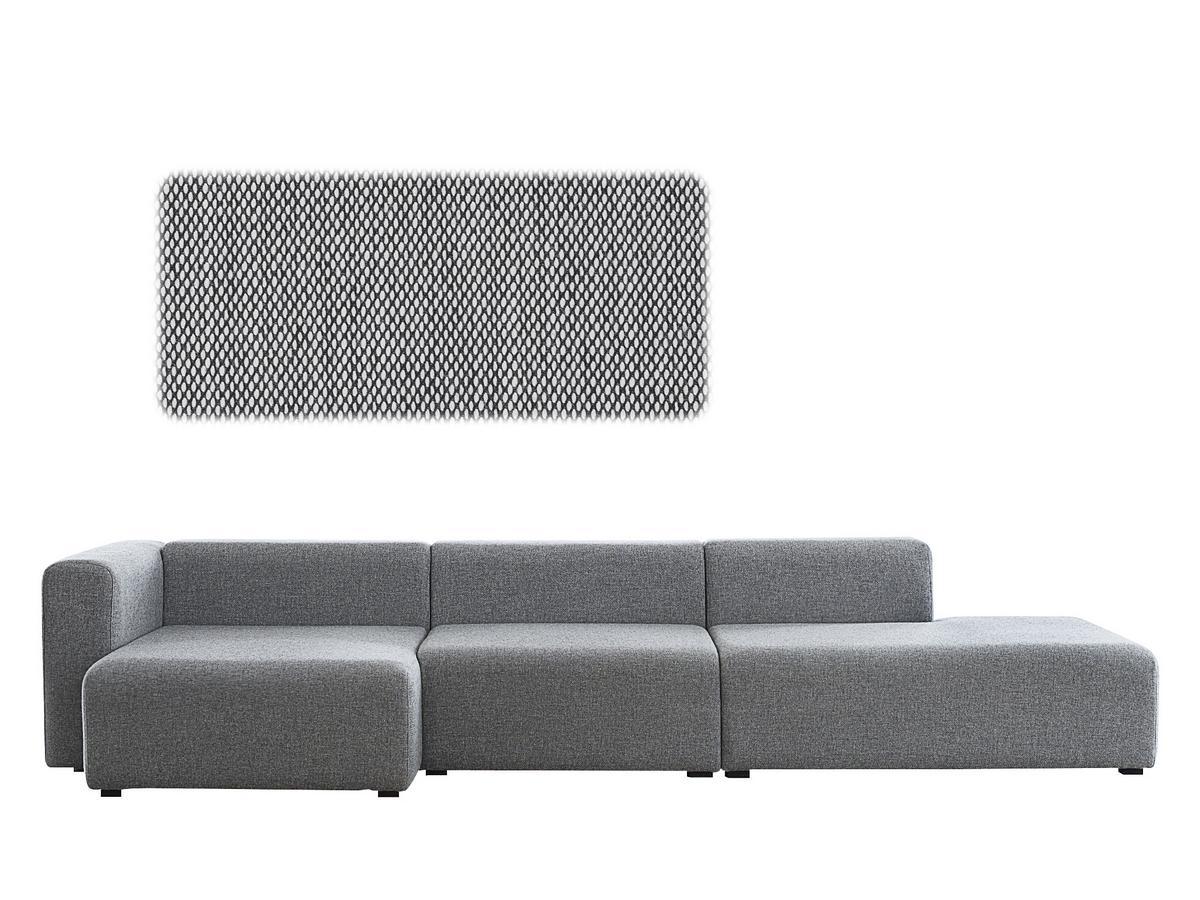 Mags Sofa With Récamière Left Armrest|Steelcut Trio 124   Graphic