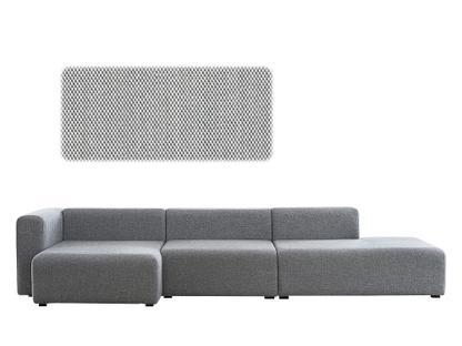 Mags Sofa With Récamière Left Armrest|Steelcut Trio 133   Light Grey