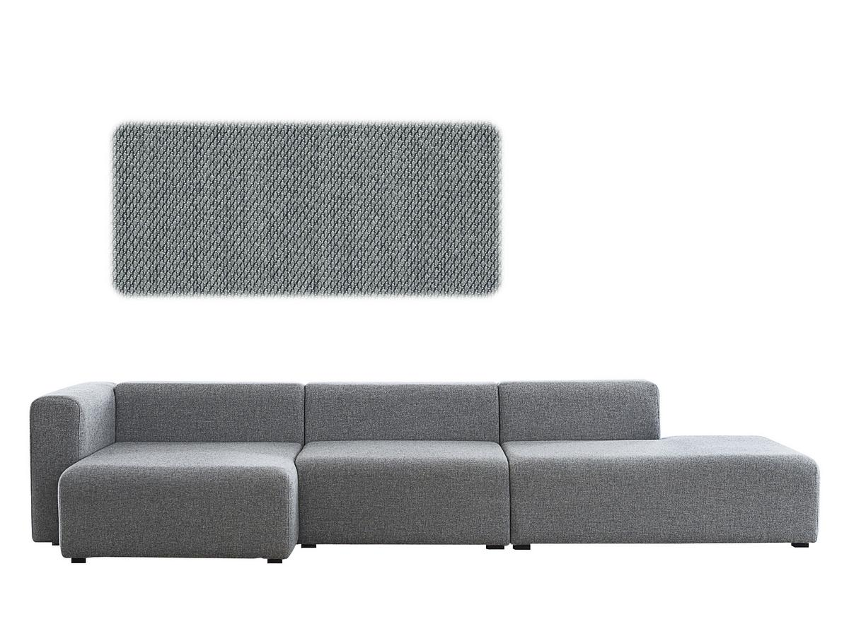 Recamiere chaiselongue  Hay Mags Sofa with Récamière, Left armrest, Steelcut Trio 153 ...