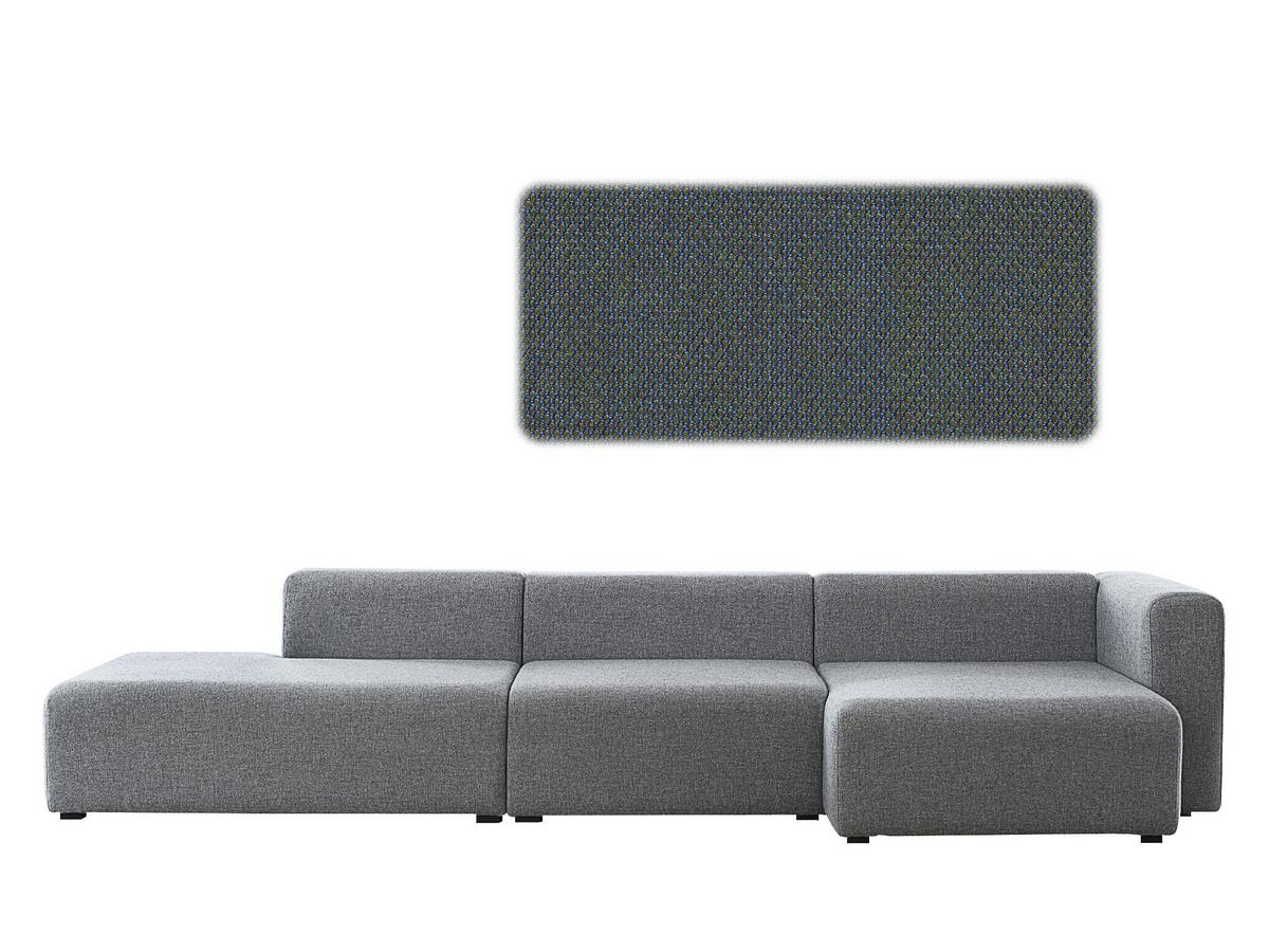 Hay Mags Sofa With Recamiere Right Armrest Steelcut Trio 883