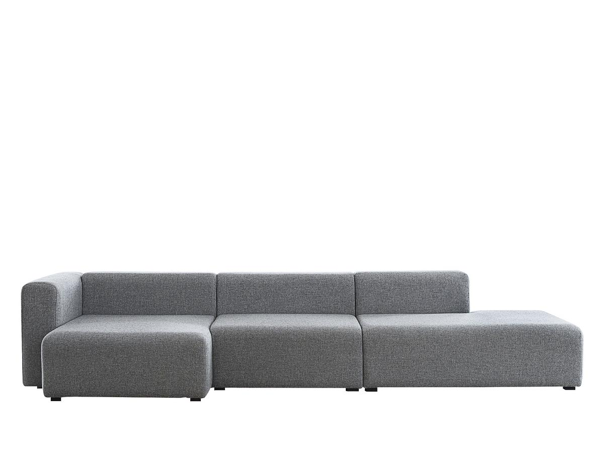 Hay mags sofa with r cami re by hay designer furniture for Sofa recamiere