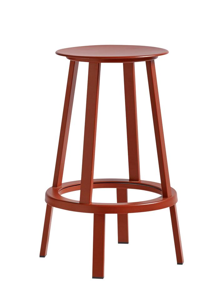 Prime Hay Revolver Bar Stool Kitchen Version Seat Height 65 Cm Red Gmtry Best Dining Table And Chair Ideas Images Gmtryco