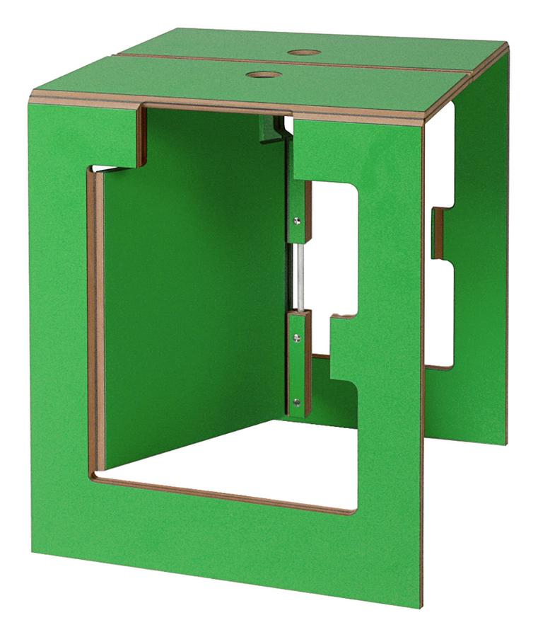 kabr leipzig folding stool falter green by dreipunkt 4. Black Bedroom Furniture Sets. Home Design Ideas