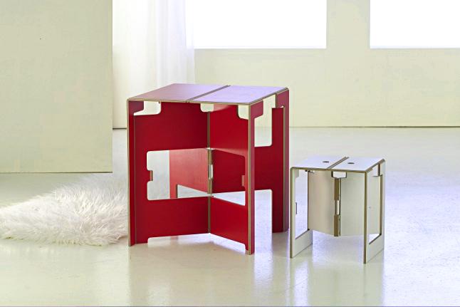 Kabré-Leipzig Folding Table Falter XXL by dreipunkt 4, 2003 ...