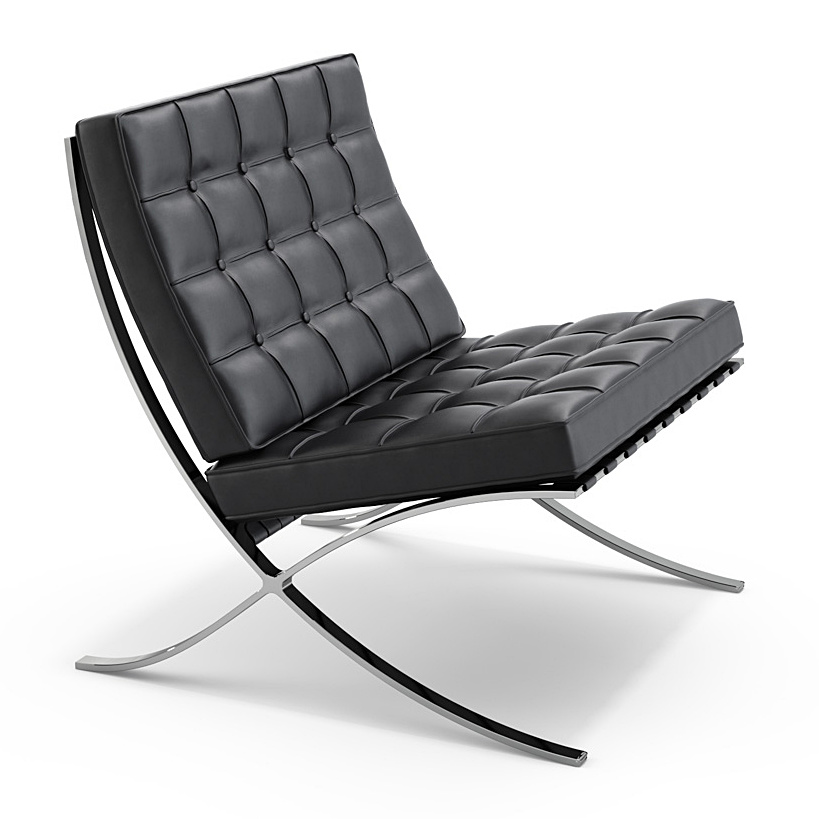 Beau Barcelona Chair. By Ludwig Mies Van Der Rohe ...