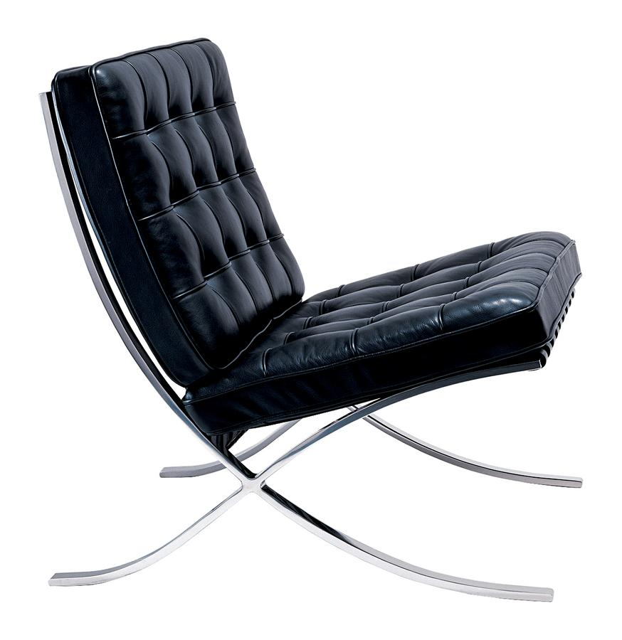 knoll international barcelona chair by ludwig mies van der rohe ... - Chaise Barcelona Pas Cher