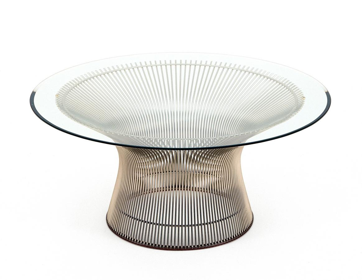 knoll international platner sofa table by warren platner   - platner sofa table