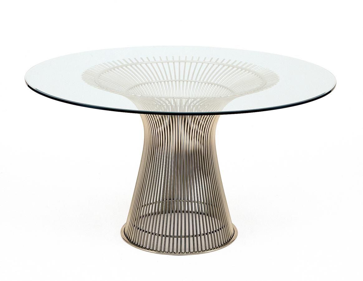 Knoll international platner sofa table by warren platner for Table basse marbre