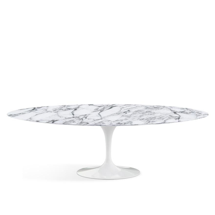 Knoll International Saarinen Oval Dining Table Large L Cm W - White saarinen oval dining table