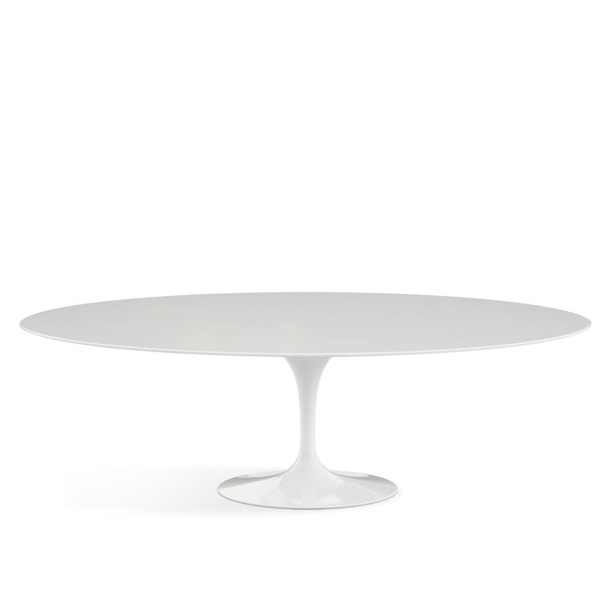 knoll international saarinen oval dining table by eero. Black Bedroom Furniture Sets. Home Design Ideas
