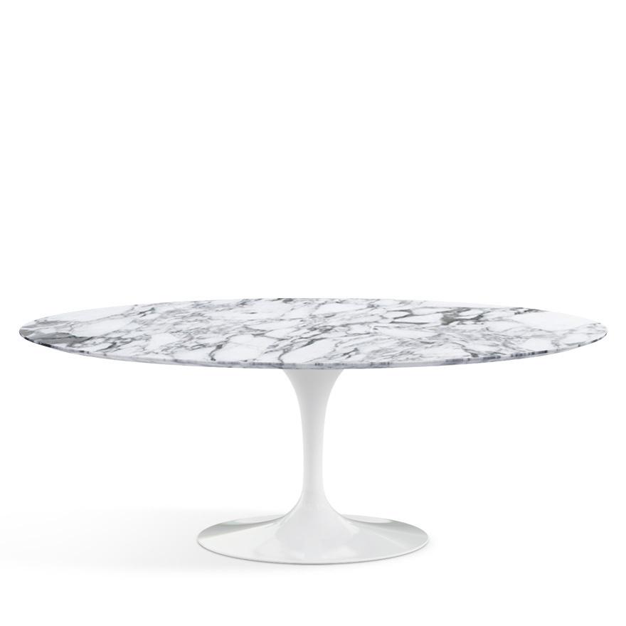 Knoll International Saarinen Oval Dining Table Small L Cm W - White saarinen oval dining table