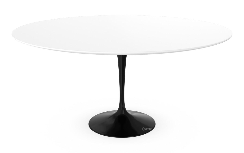 Knoll international saarinen round dining table cm black