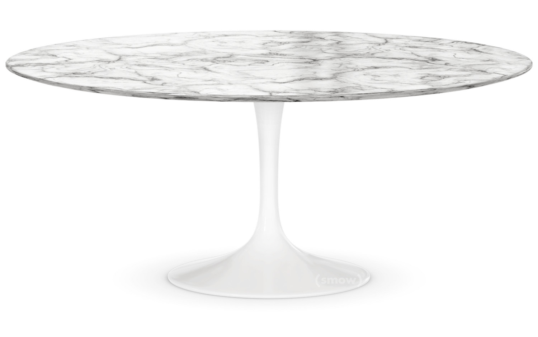 Saarinen Round Sofa Table Large (Height 38/39cm, ø 91 Cm) 