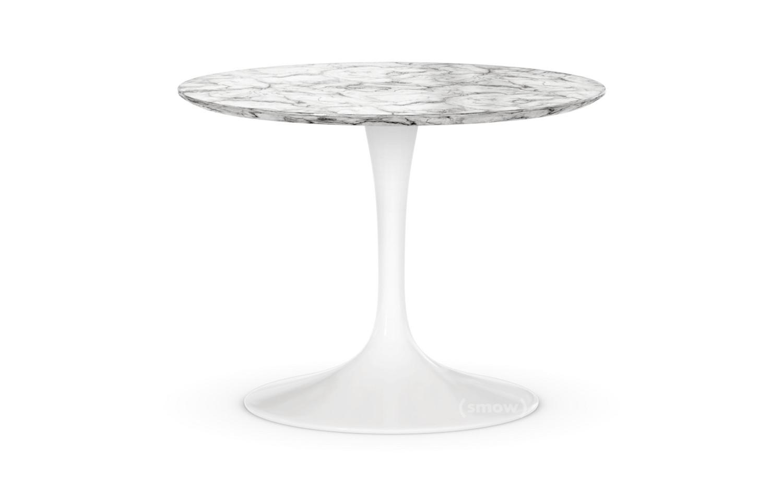 Knoll International Saarinen Round Sofa Table Small Height 36 37