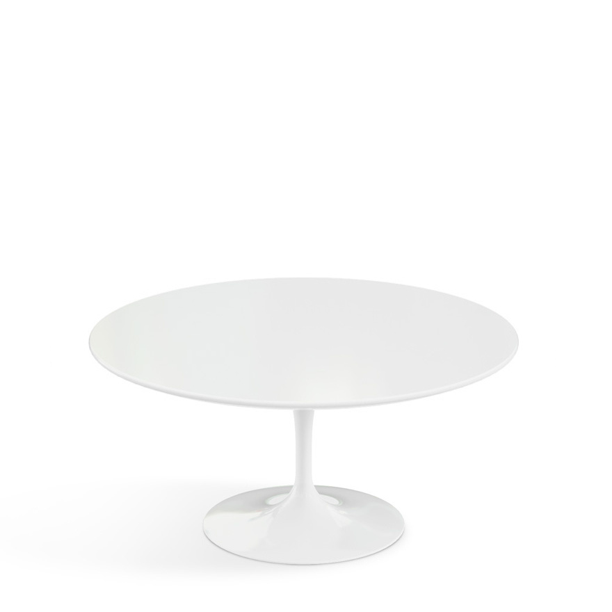 Knoll International Saarinen Round Sofa Table By Eero Saarinen - Tulip table sizes