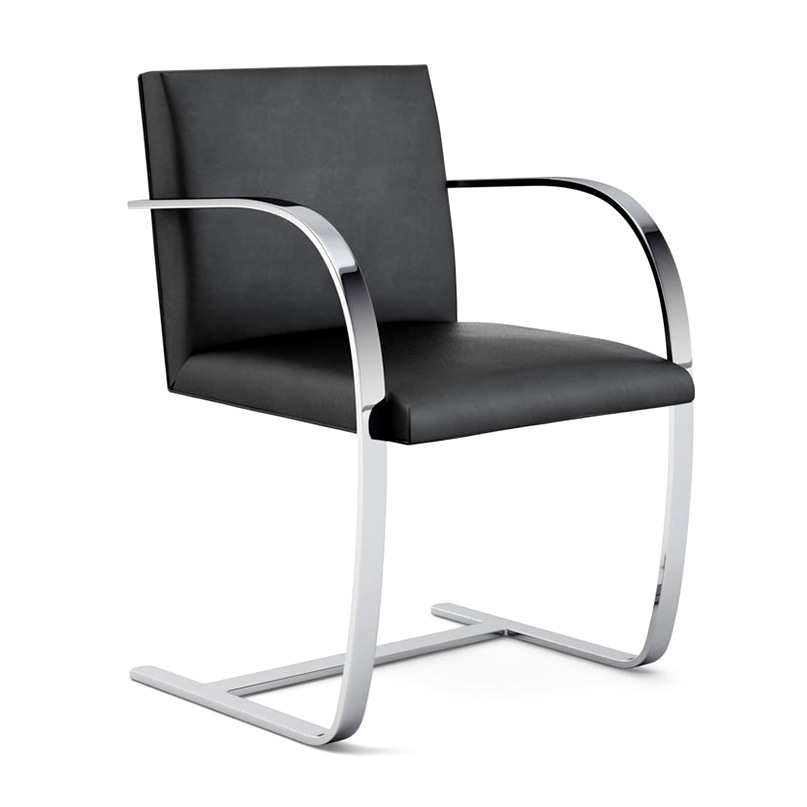 Luxembourg Lounge Stoel.Knoll International Flat Bat Brno Chair By Ludwig Mies Van Der