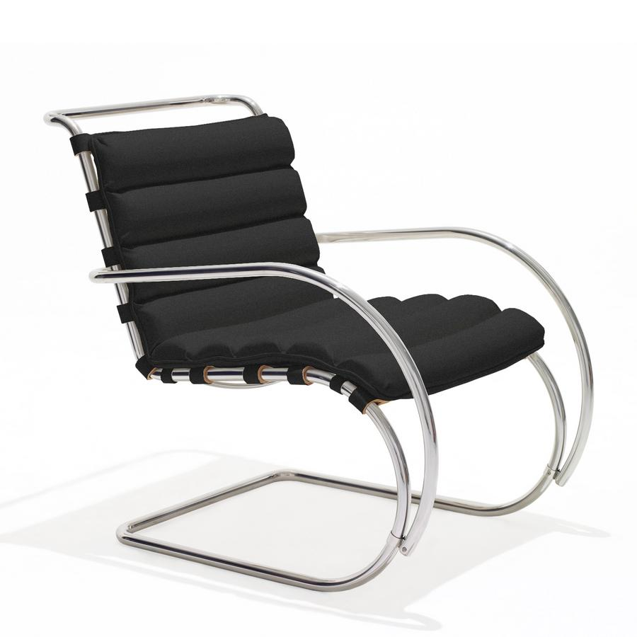 Knoll International Mr Lounge Chair Bauhaus Edition By Ludwig Mies