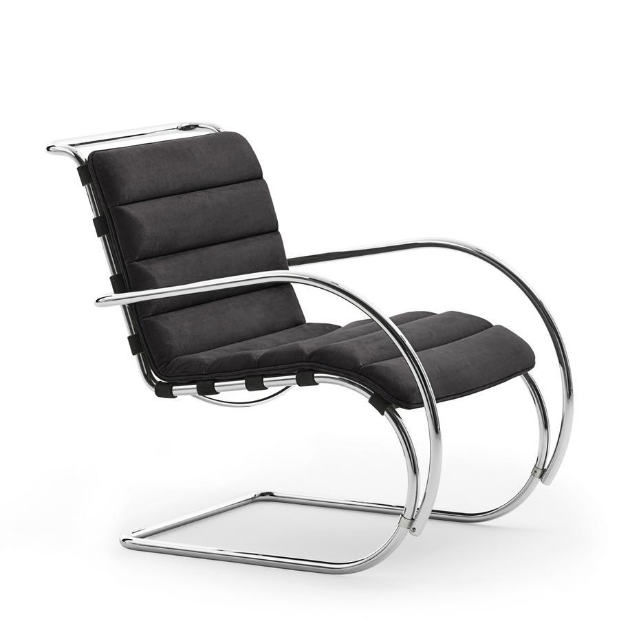 Chaise Brno Mies Van Der Rohe knoll international mr lounge chair bauhaus edition