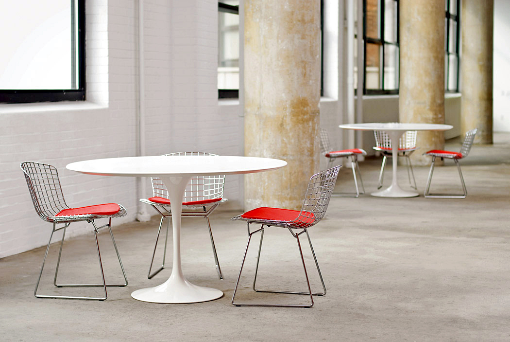 Tavolo Tulip Knoll : Knoll international bertoia chair by harry bertoia