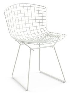 Bertoia Chair White|Without cushion
