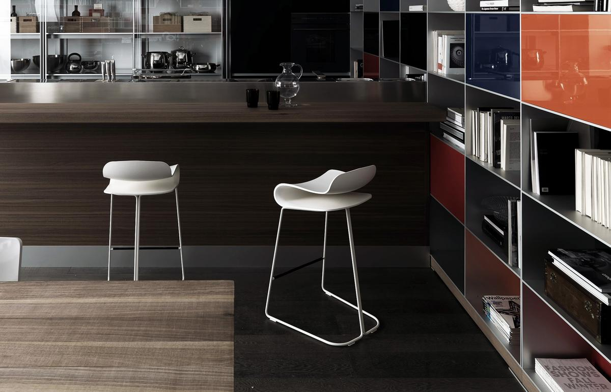 kristalia bcn bar stool by harry camila 2008 designer. Black Bedroom Furniture Sets. Home Design Ideas