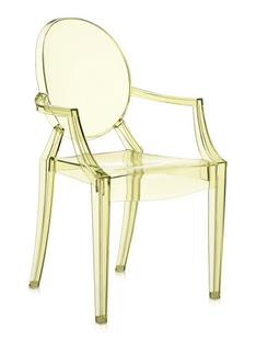 Kartell Louis Ghost, Transparent-Yellow by Philippe Starck ...