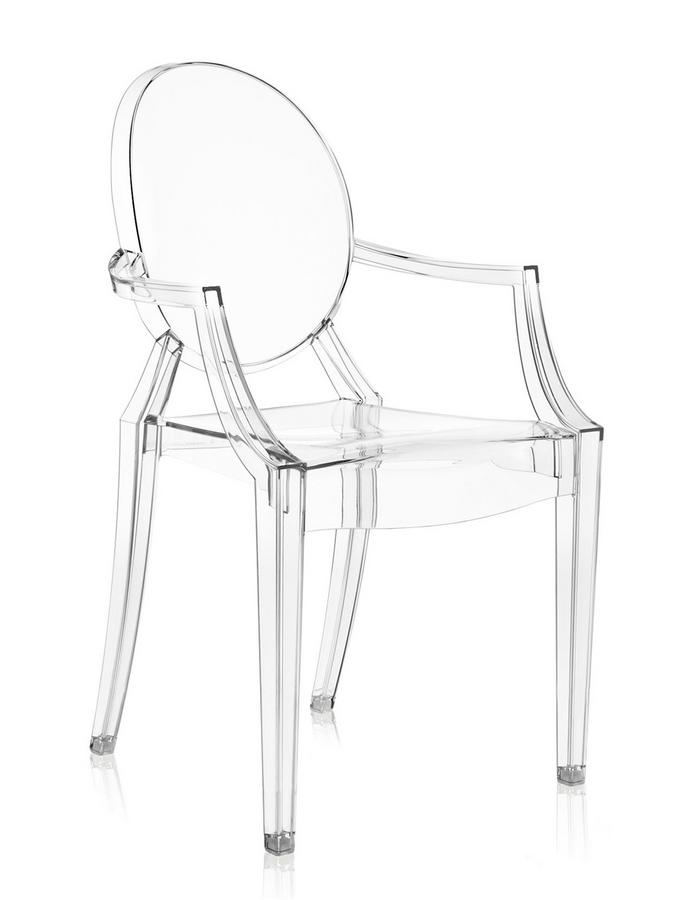 Philippe starck ghost chair chairs seating for Chaise louis ghost kartell