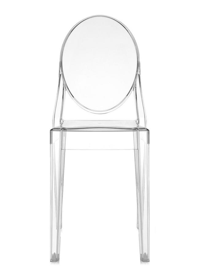 Kartell victoria ghost by philippe starck designer for Chaise ghost philippe starck