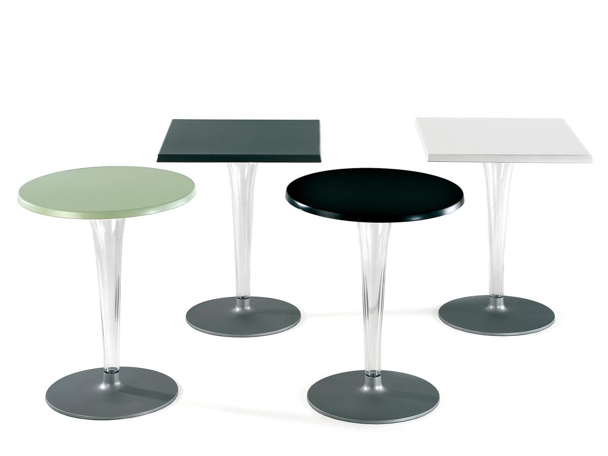 Kartell toptop dining table small by philippe starck for Table kartell