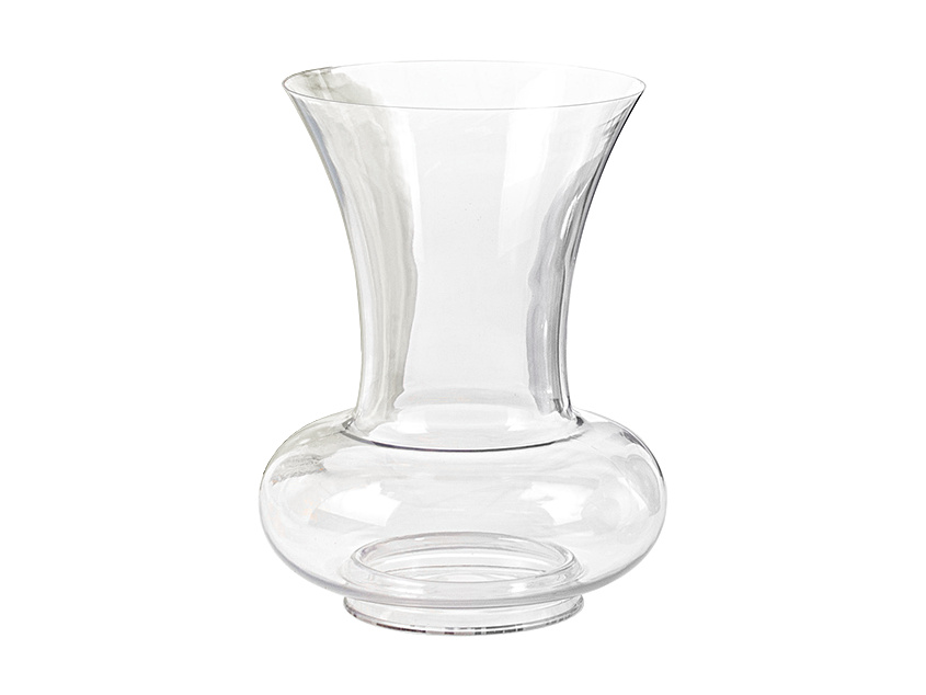 Kartell La Bohme Vase La Bohme 2 Clear Glass By Philippe Starck