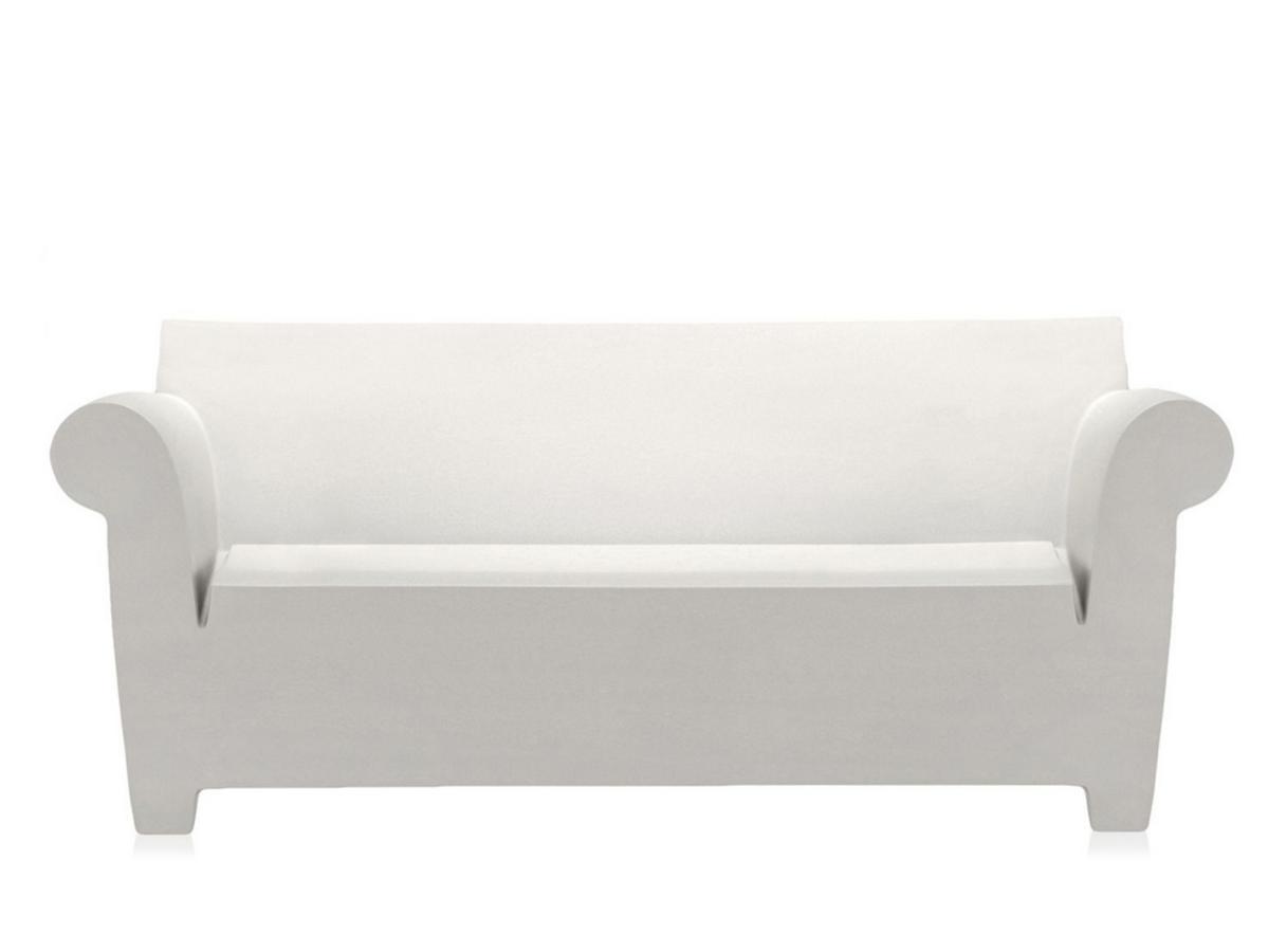 kartell bubble club sofa by philippe starck   designer  - bubble club sofa