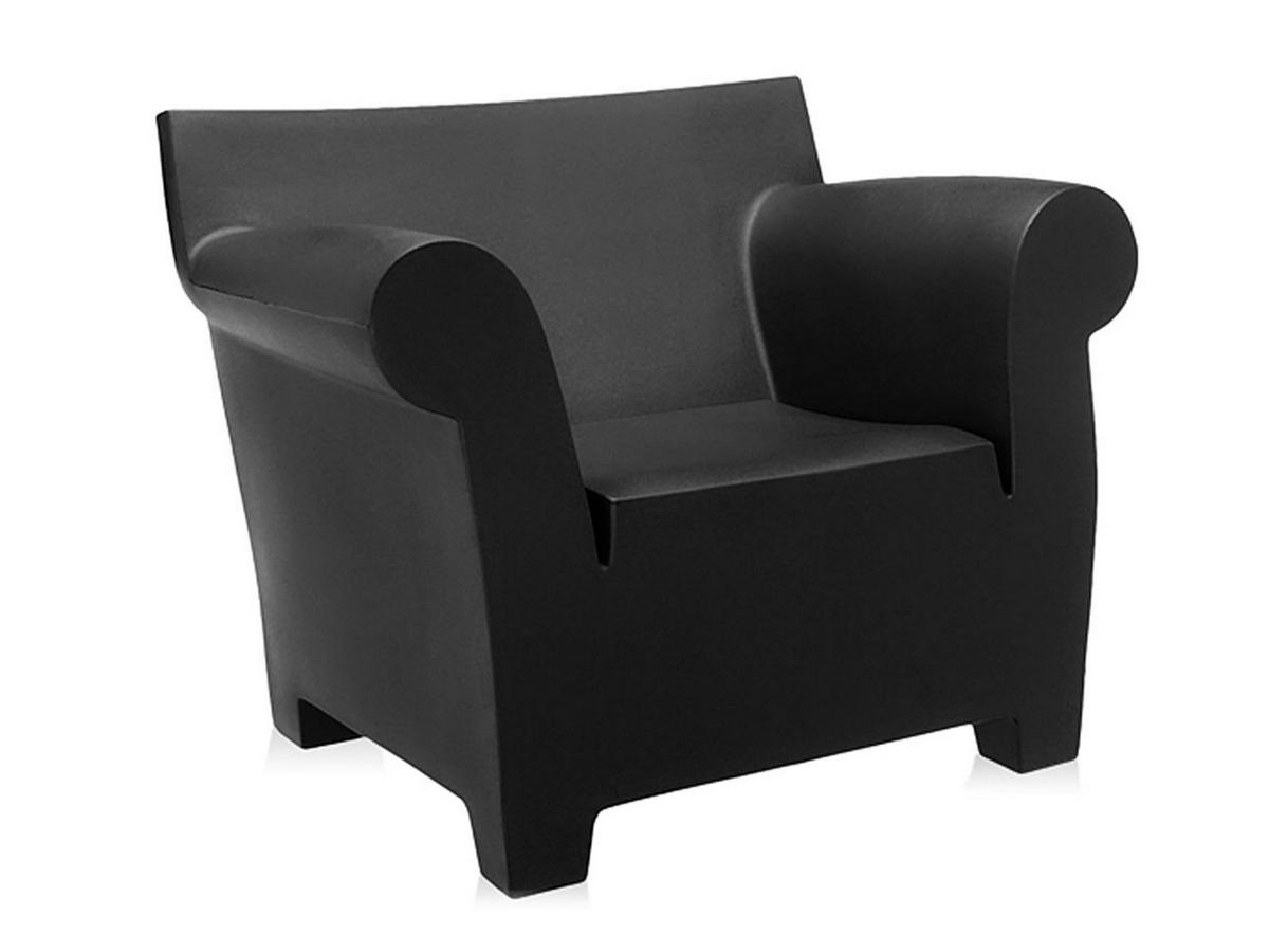 Kartell Bubble Club Armchair Black By