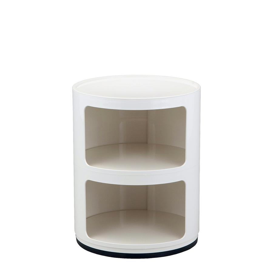 Kartell Round Table Kartell Componibili Round 2 Compartments By Anna Castelli
