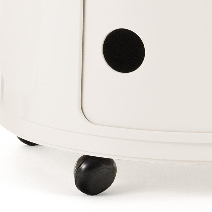 kartell componibili castors by anna castelli ferrieri 1967 designer furniture by. Black Bedroom Furniture Sets. Home Design Ideas