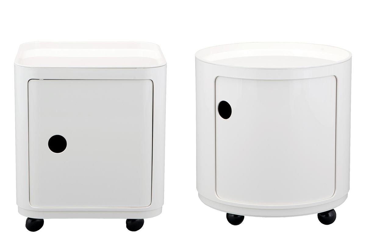 kartell componibili castors by anna castelli ferrieri. Black Bedroom Furniture Sets. Home Design Ideas