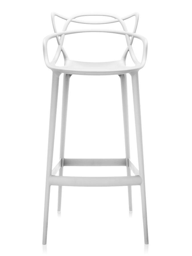 Kartell Masters Barstool White Bar Version 75 Cm By