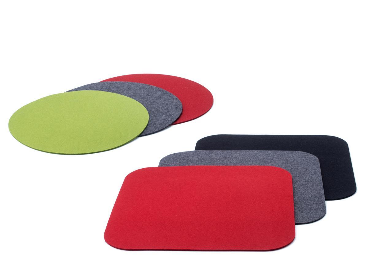 kartell felt coasters for componibili designer furniture. Black Bedroom Furniture Sets. Home Design Ideas