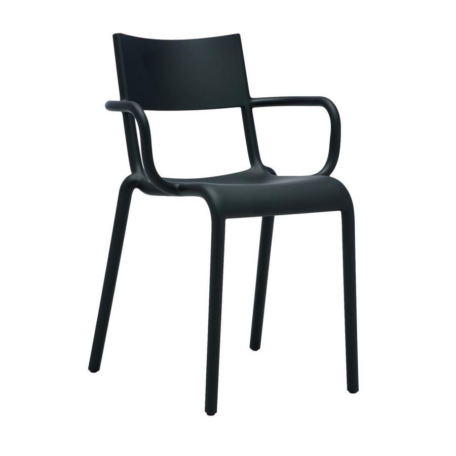 kartell generic a black by philippe starck 2016. Black Bedroom Furniture Sets. Home Design Ideas