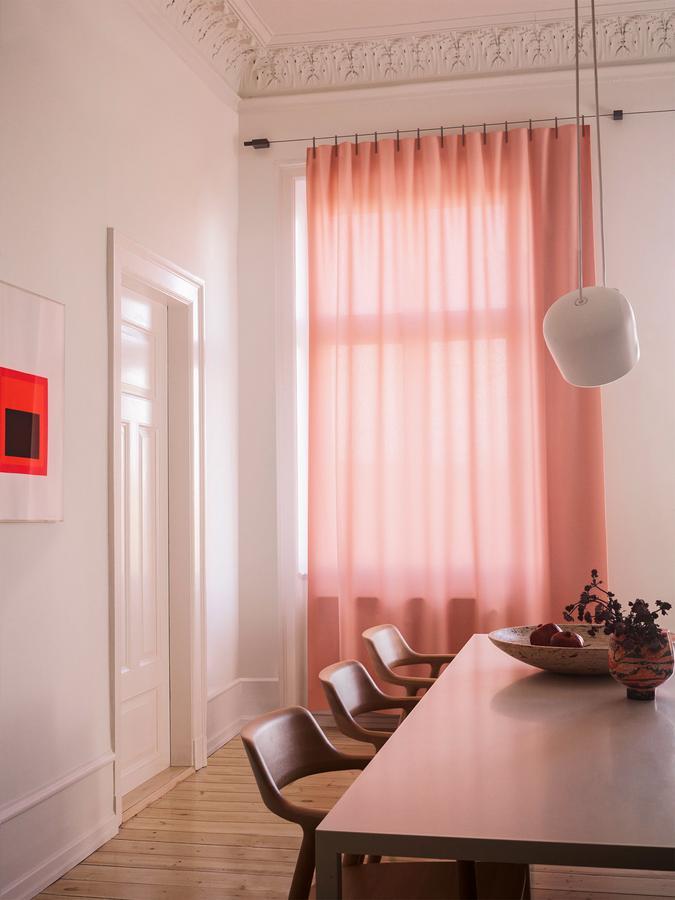 Kvadrat Ready Made Curtain Ace, Pink by Ronan & Erwan Bouroullec ...