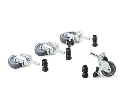 Industrial Castors (1 Set) for Eiermann Table Frames
