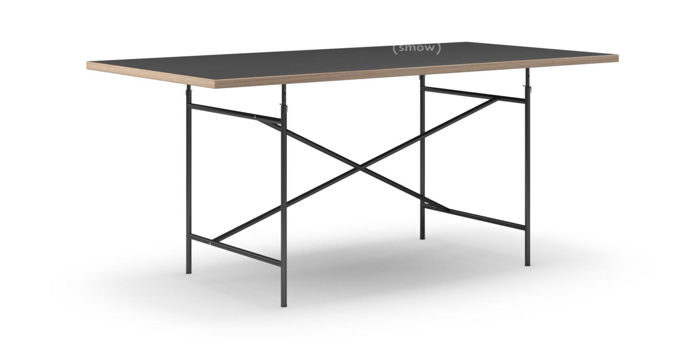 richard lampert eiermann table linoleum black with oak. Black Bedroom Furniture Sets. Home Design Ideas