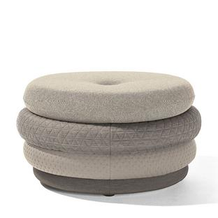 Pouf Fat Tom 4-layer, without legs|Beige