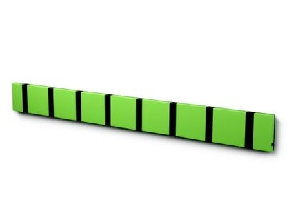 Knax 8 hooks|Black|MDF lime lacquered